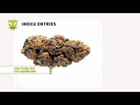 Medical Cannabis Cup: Indica Entries