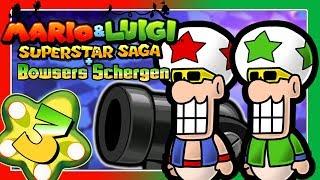 MARIO & LUIGI: SUPERSTAR SAGA + BOWSERS SCHERGEN Part 3: Paar-Aktionen & Paar-Attacken