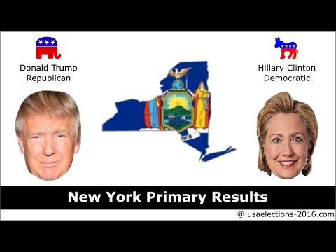 New York Primary Result 2016 : US Election 2016