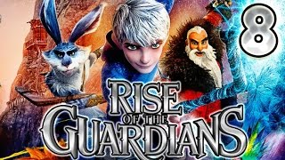 Rise of the Guardians Walkthrough Part 8 (PS3, X360, WiiU, Wii) No Commentary