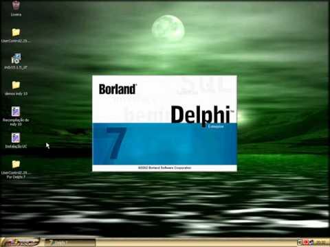 Instalação do user control no Delphi 7