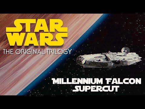 Star Wars: Just The Falcon (Millennium Falcon Supercut)