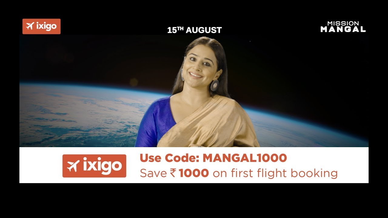 ixigo ties up with Mission Mangal - Exchange4media
