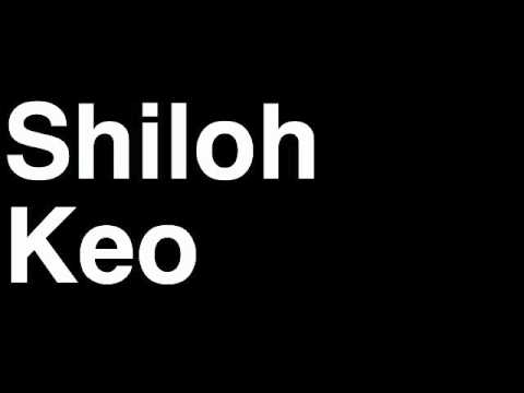 How to Pronounce Shiloh Keo Houston Texans NFL Football Touchdown TD Tackle Hit Yard Run