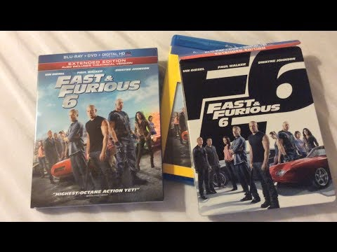 fast furious 6 2013 blu ray review and unboxing youtube. Black Bedroom Furniture Sets. Home Design Ideas