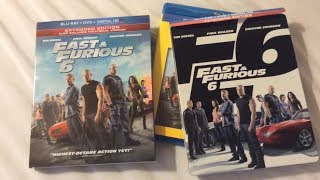 Fast & Furious 6 (2013) - Blu Ray Review and Unboxing