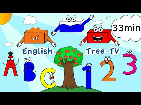 Colors, Numbers, ABC, Phonics, Fruit, Shapes Nursery Rhymes
