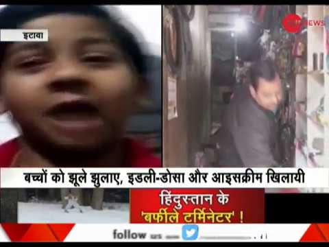 This young boy complains against his father, watch what Etawah police did next