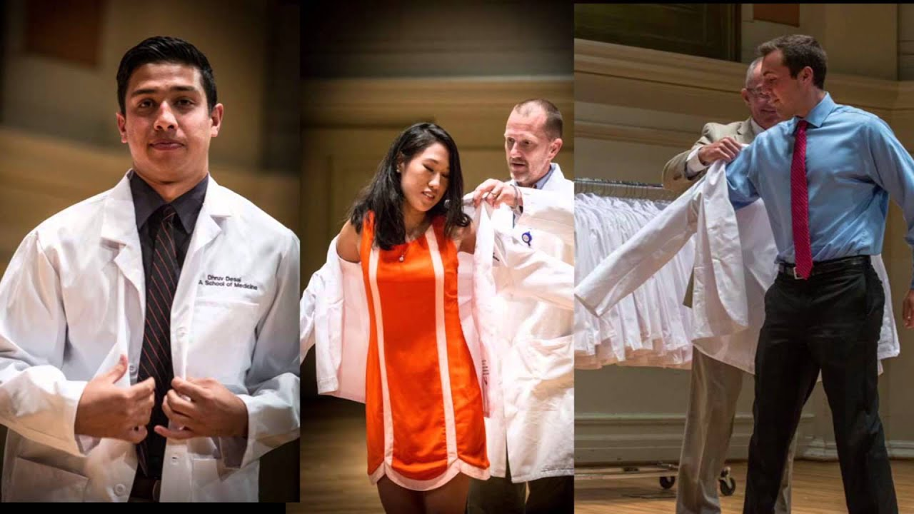 UVA School of Medicine - White Coat Ceremony & Convocation Class