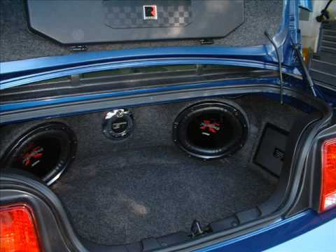 98 Mustang Gt >> Mustang Sound System - YouTube