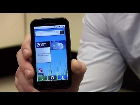 Telekom zeigt Outdoor Smartphone Motorola Defy