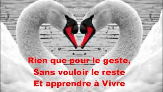Savoir aimer paroles
