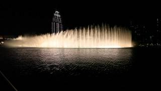 Walk on the wild side - Lou Reed at the Dubai Fountain
