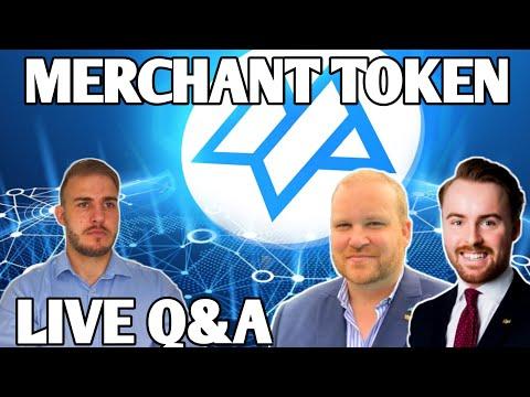 MERCHANT TOKEN MTO LIVE Q&A WITH CEO JOHN CAVEBRING!