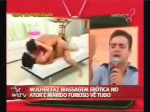 Canlı yayında karısının  başkasıyla seviştiğini gören adam   Patlayan videolar