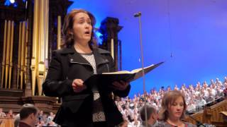 "Behind-the-Scenes: ""Messiah"" Concert Rehearsal - Mormon Tabernacle Choir"