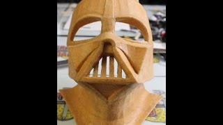 Darth Vader Helmet Part 3 (Worbla Shell) - Craft Dad