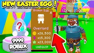 I SPENT $50,000 ROBUX GETTING THE NEW RAREST EASTER PETS IN RPG WORLD SIMULATOR!! (Roblox)
