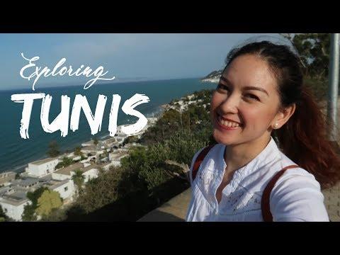 TUNIS, TUNISIA  (Carthage + Sidi Bu Said) - Karen Ferreras Travel Vlog