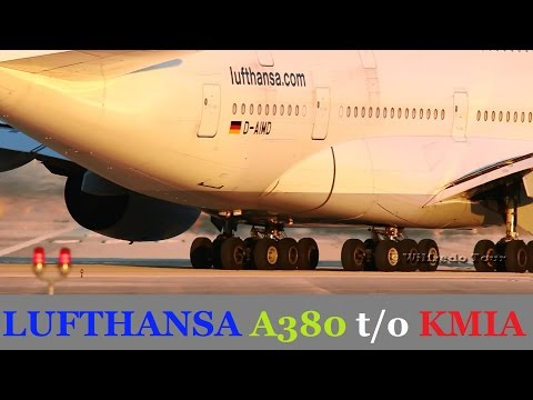 Lufthansa A380 t/o and AA 757 FOD Encounter