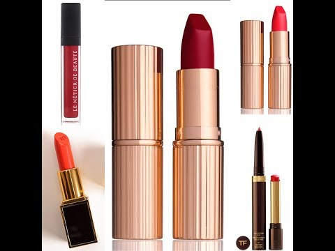 Top 5 Tuesdays - Bold Red Lipsticks