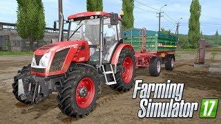POCZĄTEK - PROBLEMY Z PRACOWNIKAMI PJOTER - Farming Simulator 2017 Po Polsku #02 [PC/HD]