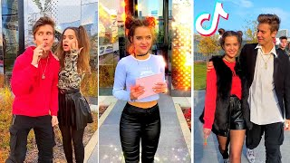 TikTok Couple Goals Compilation - Best Videos Flirting with Russian Girls In Public Of Alex Miracle
