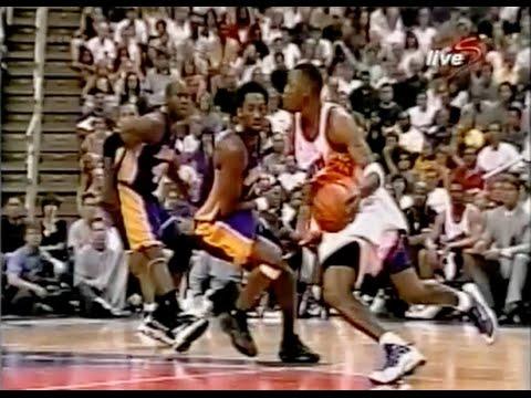Post-Injury Penny Hardaway Schools Kobe - 2000 WCSF