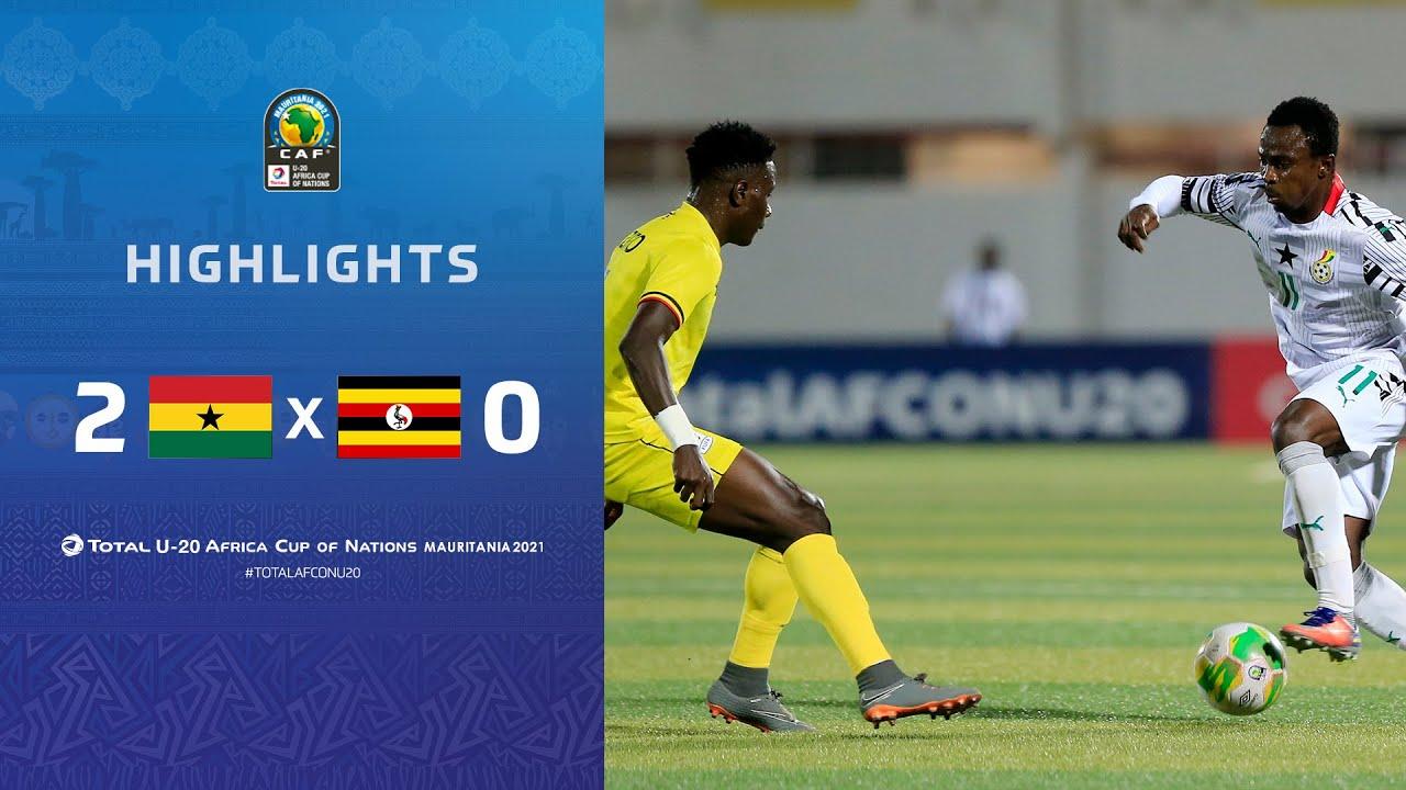 HIGHLIGHTS | Total AFCONU20 2021 | Final: Ghana 2-0 Uganda