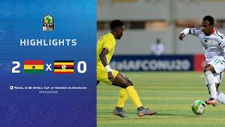 HIGHLIGHTS   Total AFCONU20 2021   Final: Ghana 2-0 Uganda
