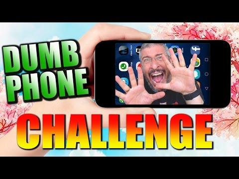 אתגר הטלפון הטיפש - The Dumb Phone Challenge