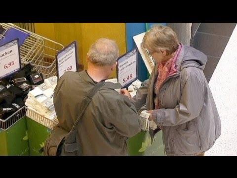 Schwacher Einzelhandel in Deutschland