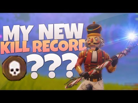MY NEW KILL RECORD! - PS4 Fortnite Solos Gameplay LIVE! - PS4 Fortnite BR Gameplay!