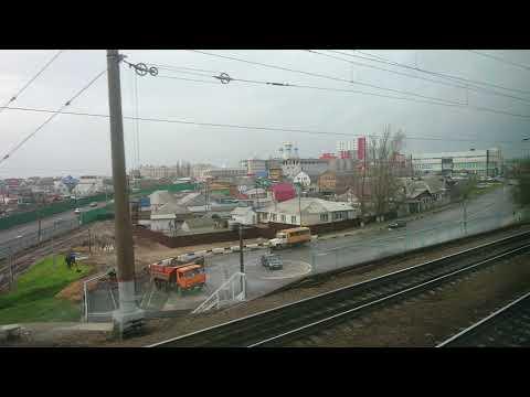 Прибытие на станцию Лиски(поезд Адлер-Москва)