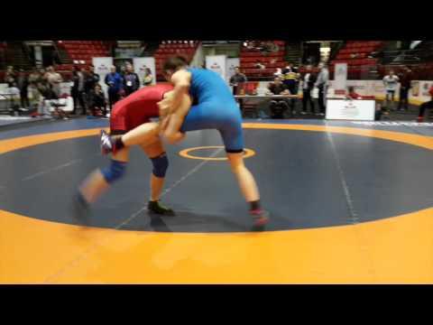 2016 Canadian Senior Championships: 55 kg Final Alexandria Town vs. Laurence Beauregard