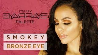 ItsMyRayeRaye Bronze Smokey Eye Makeup Tutorial