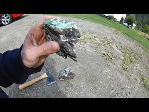 DIY - ROCK CRUSHER - RAW GOLD SILVER PLATINUM ORE !
