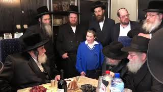 Viznitz Rebbe Visits Chief Rabbi Of Antwerp R' Moshe Dovid Leiberman - Adar I 5779