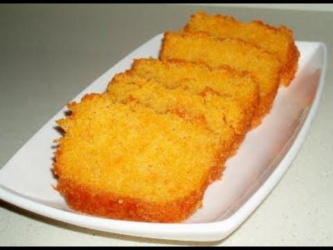 pastel de zanahoria esponjoso
