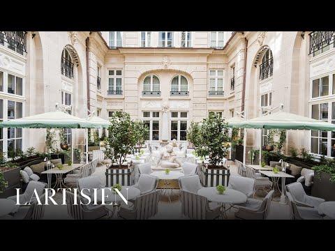 Best Luxury Hotels in Paris :  Hôtel de Crillon, A Rosewood Hotel.