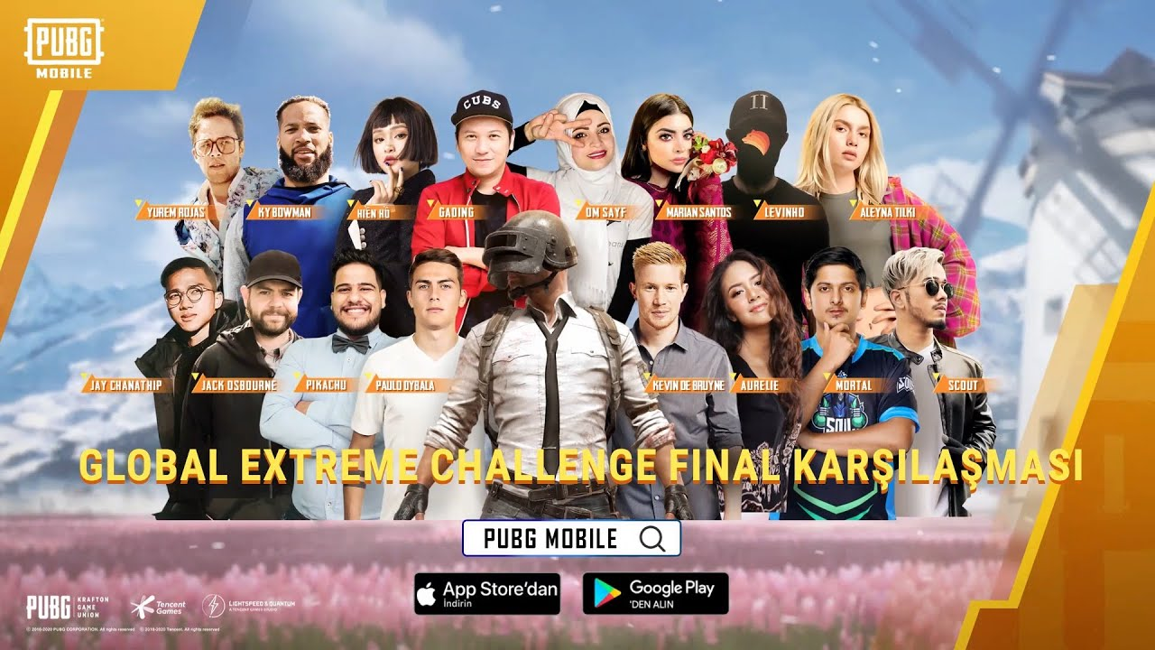 Pubg Mobile Global Extreme Challenge Unluler Youtube