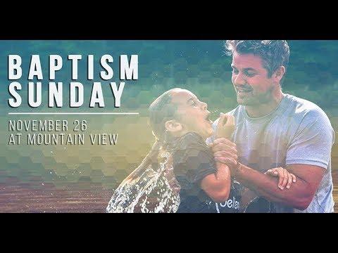 Baptism Sunday Nov 26 2017