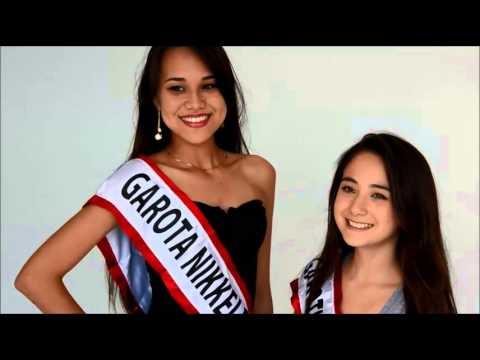 Chamada Concurso Garota e Garotinha Nikkei Fest 2015