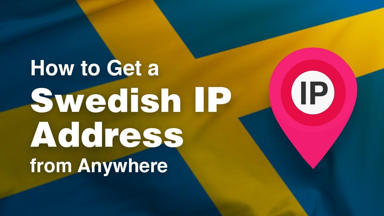 swedish ip adress