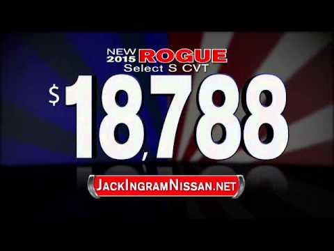 Jack Ingram Nissan July 2015 Rogue