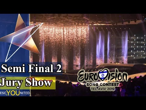Eurovision 2019: Semi Final 2 JURY SHOW (From Press Center)