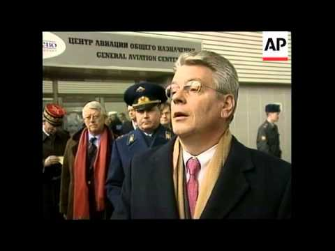 RUSSIA: ALAIN RICHARD VISIT