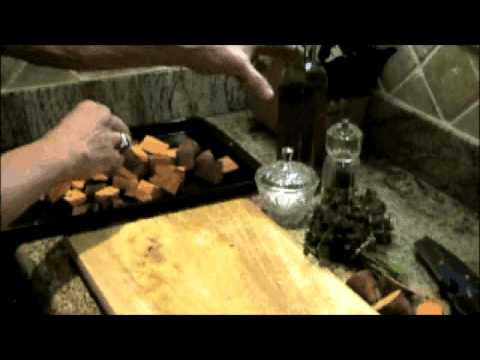 Healthy Recipes…Roasted Sweet Potatoes