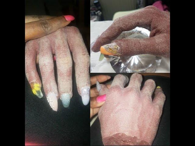 Realistic practice hands for nail technicians (beginner)