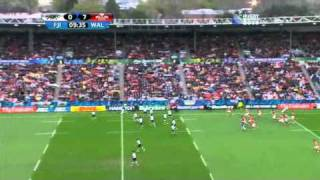 Rugby union Wales vs Fiji at Hamilton, New Zealand part 3.